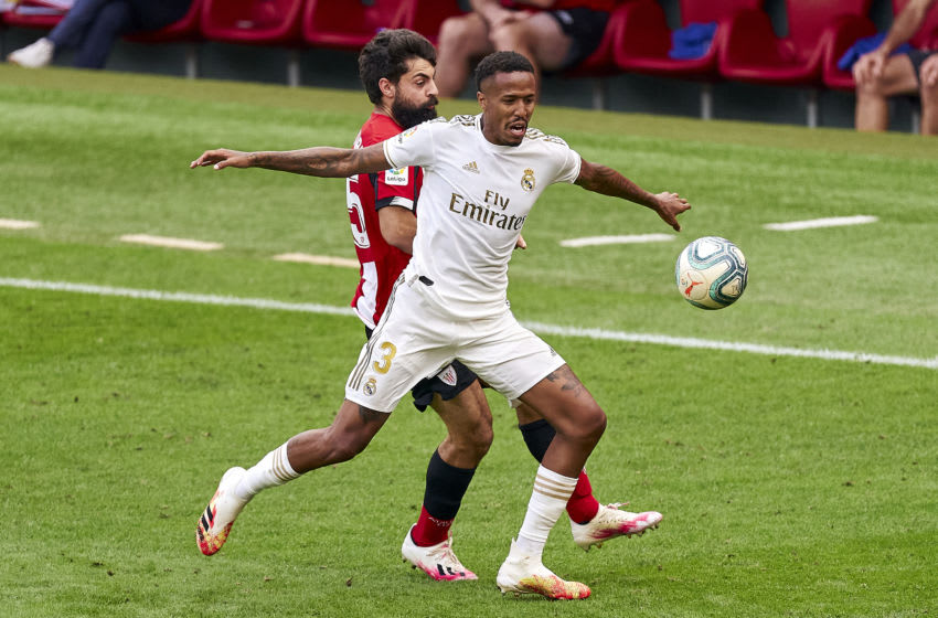 Real Madrid, Eder Militao (Photo by Diego Souto/Quality Sport Images/Getty Images)