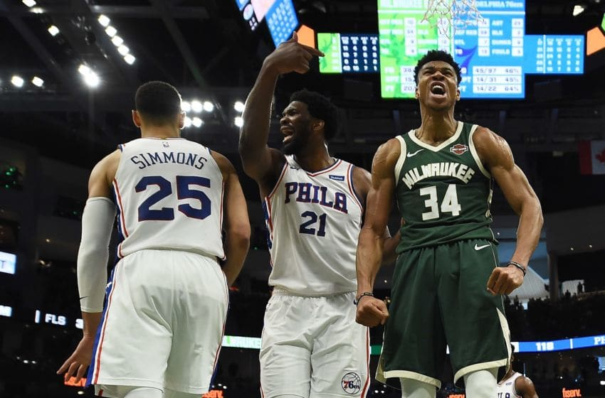 Ben Simmons, Joel Embiid | Philadelphia 76ers (Photo by Stacy Revere/Getty Images)
