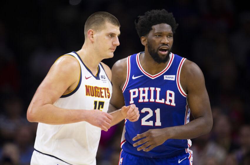Joel Embiid, Nikola Jokic, Sixers, top 100 NBA players (Photo by Mitchell Leff/Getty Images)