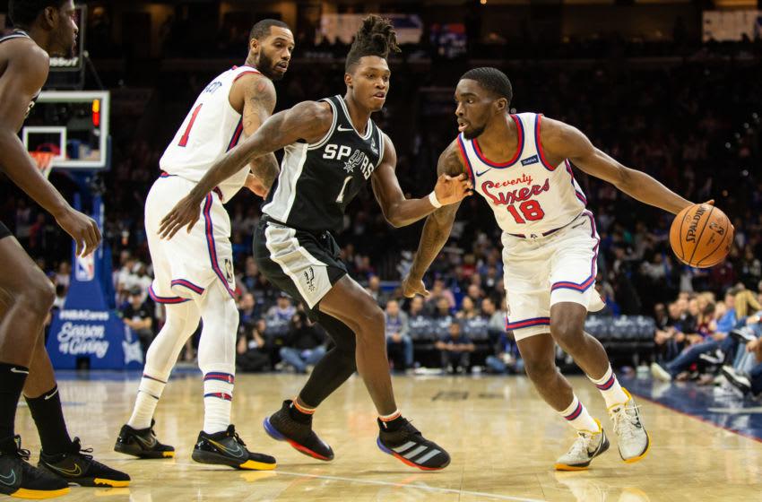 Philadelphia 76ers, Shake Milton (Photo by Cameron Pollack/Getty Images)