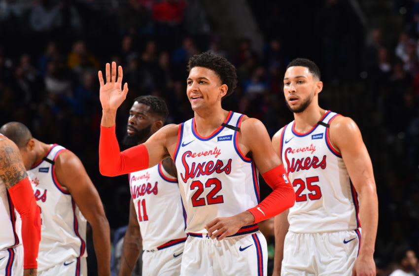 Philadelphia 76ers, Matisse Thybulle (Photo by Jesse D. Garrabrant/NBAE via Getty Images)