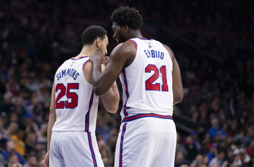 Ben Simmons, Joel Embiid | Philadelphia 76ers (Photo by Mitchell Leff/Getty Images)