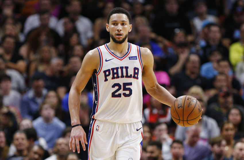 Ben Simmons   Philadelphia 76ers (Photo by Michael Reaves/Getty Images)