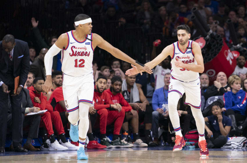 Philadelphia 76ers, Tobias Harris, Furkan Korkmaz (Photo by Mitchell Leff/Getty Images)