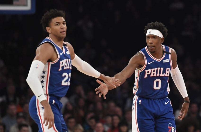 Philadelphia 76ers, Matisse Thybulle, Josh Richardson (Photo by Sarah Stier/Getty Images)