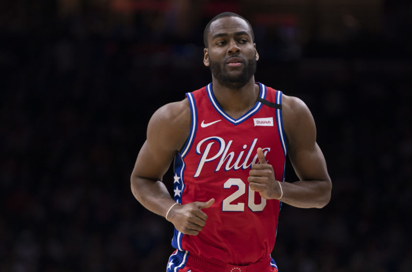 Alec Burks | Philadelphia 76ers (Photo by Mitchell Leff/Getty Images)