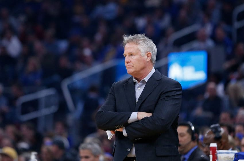Philadelphia 76ers, Brett Brown (Photo by Lachlan Cunningham/Getty Images)