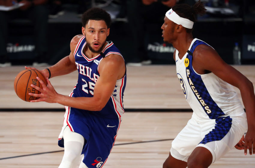 Ben Simmons   Sixers (Photo by Kim Klement - Pool/Getty Images)