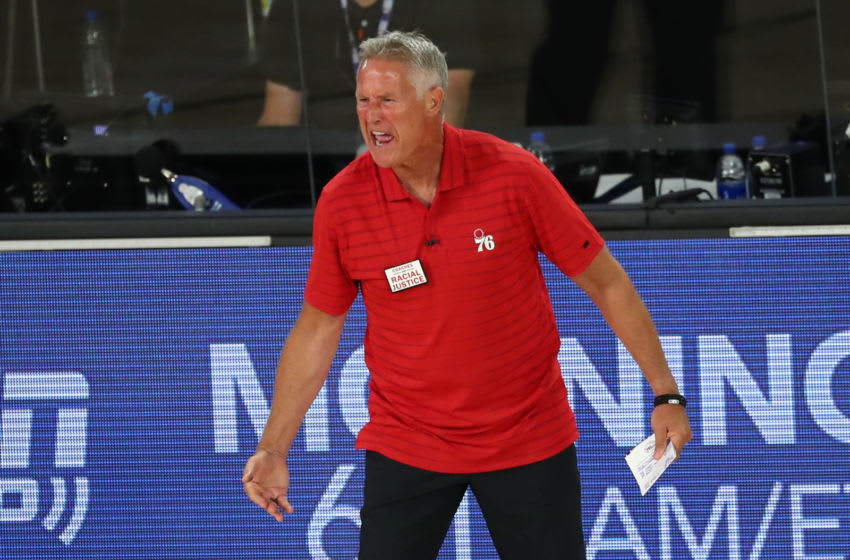 Brett Brown | Sixers (Photo by Kim Klement-Pool/Getty Images)