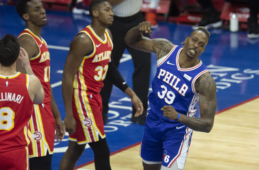 Dwight Howard, Sixers (Photo by Mitchell Leff/Getty Images)
