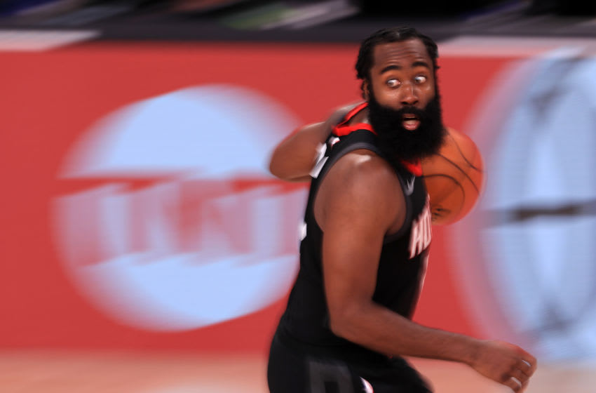 James Harden (Photo by Mike Ehrmann/Getty Images)