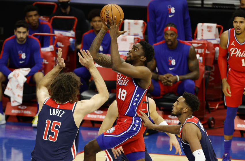 Shake Milton | Philadelphia 76ers (Photo by Tim Nwachukwu/Getty Images)