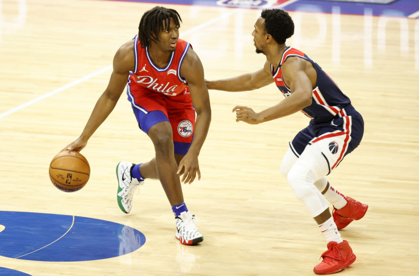 Philadelphia 76ers, Tyrese Maxey (Photo by Tim Nwachukwu/Getty Images)