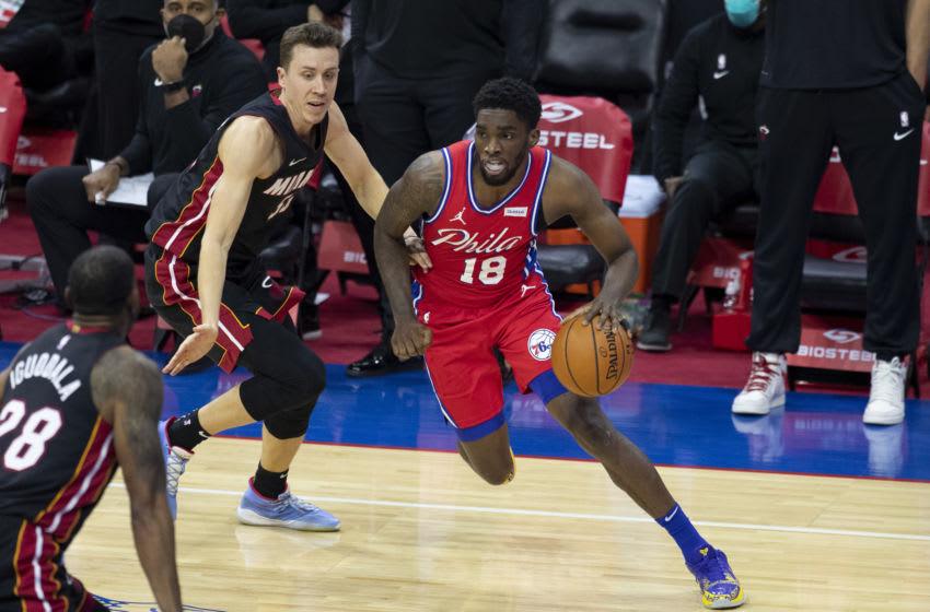 Philadelphia 76ers, Shake Milton (Photo by Mitchell Leff/Getty Images)