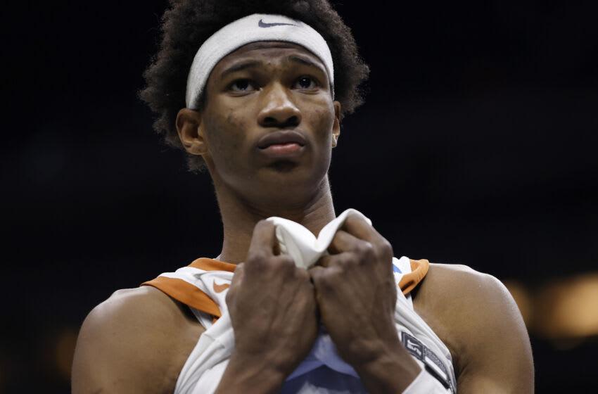 Kai Jones, NBA Mock Draft (Photo by Jamie Squire/Getty Images)