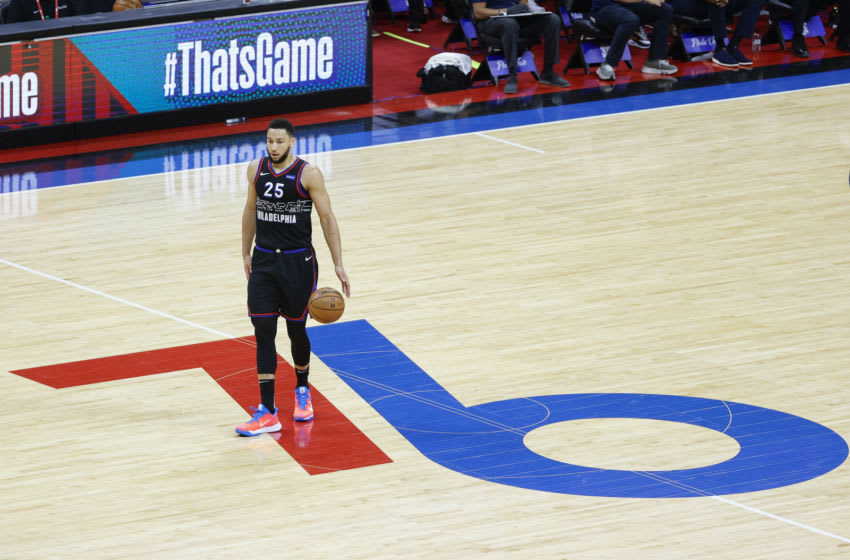 Sixers Ben Simmons (Photo by Tim Nwachukwu/Getty Images)