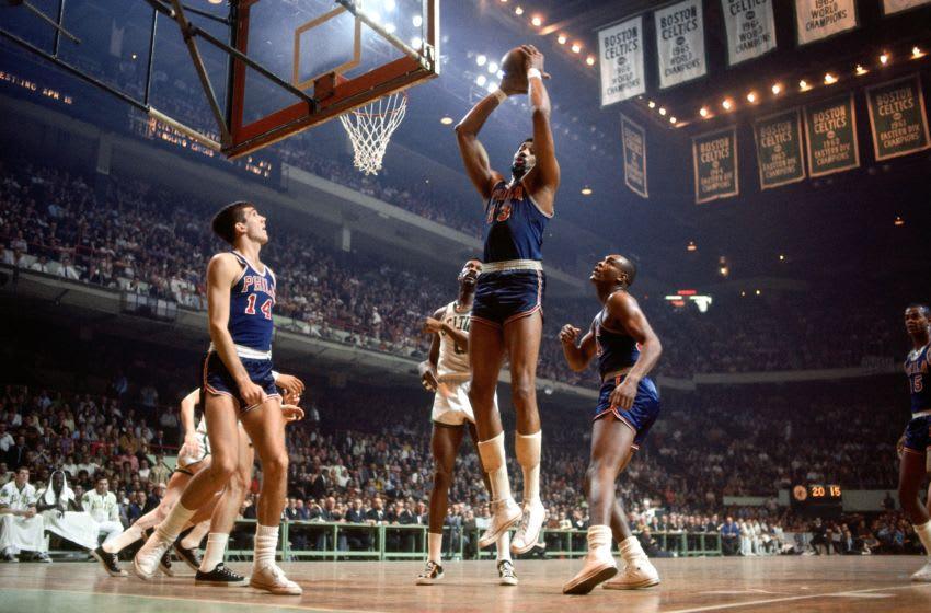 Wilt Chamberlain | Philadelphia 76ers (Photo by Dick Raphael/NBAE via Getty Images)
