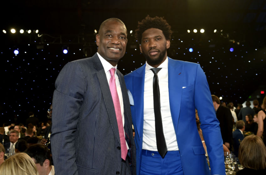 Philadelphia 76ers, Joel Embiid (Photo by Kevin Mazur/Getty Images for Turner Sports)