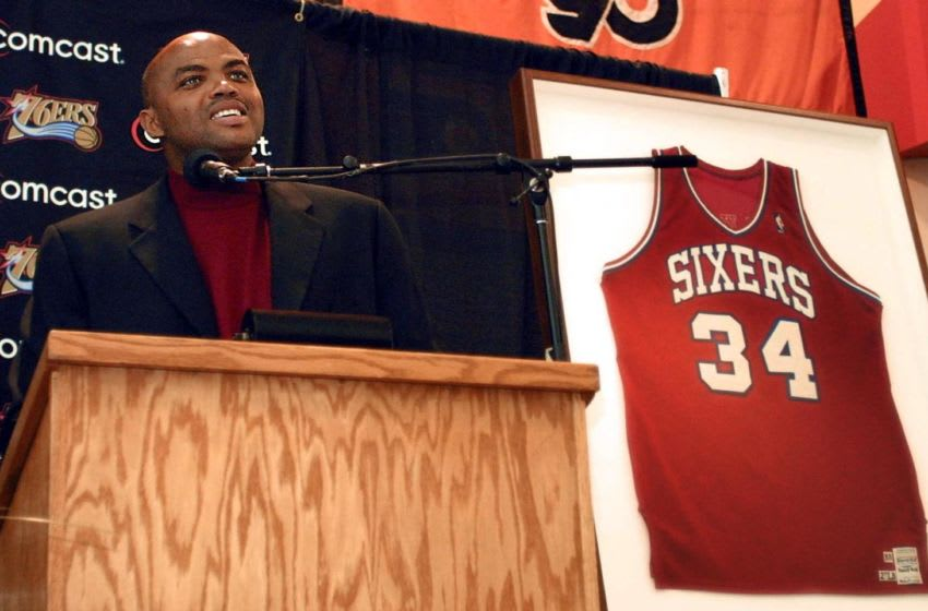 Charles Barkley, Sixers news (Photo credit should read TOM MIHALEK/AFP via Getty Images)