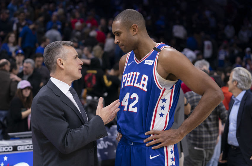Al Horford   Sixers (Photo by Mi tchell Leff/Getty Images)