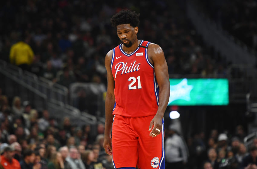 Joel Embiid   Sixers (Photo by Stacy Revere/Getty Images)