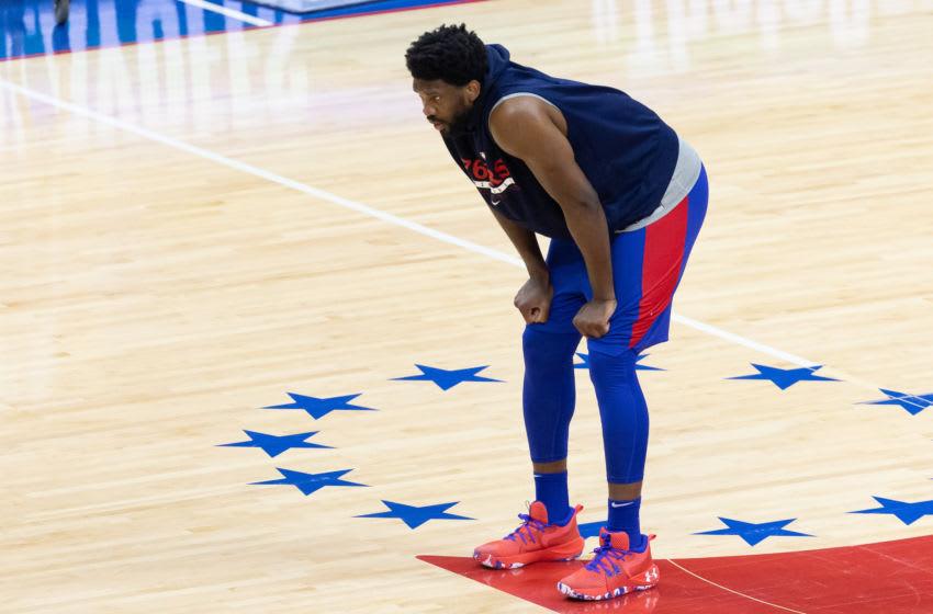 Philadelphia 76ers, Joel Embiid Mandatory Credit: Bill Streicher-USA TODAY Sports