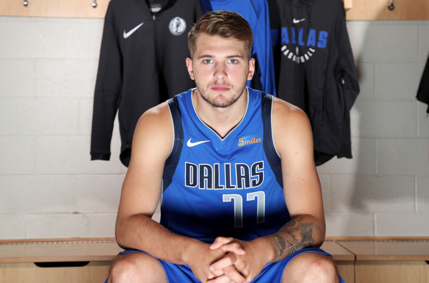 Dallas Mavericks Luka Doncic Copyright 2018 NBAE (Photo by Nathaniel S. Butler/NBAE via Getty Images)