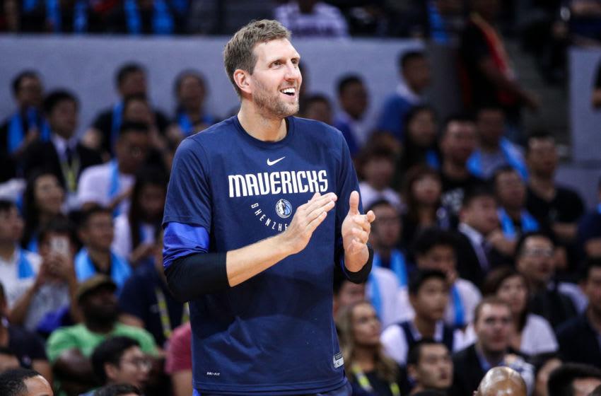 Dallas Mavericks Dirk Nowitzki (Photo by Zhong Zhi/Getty Images)