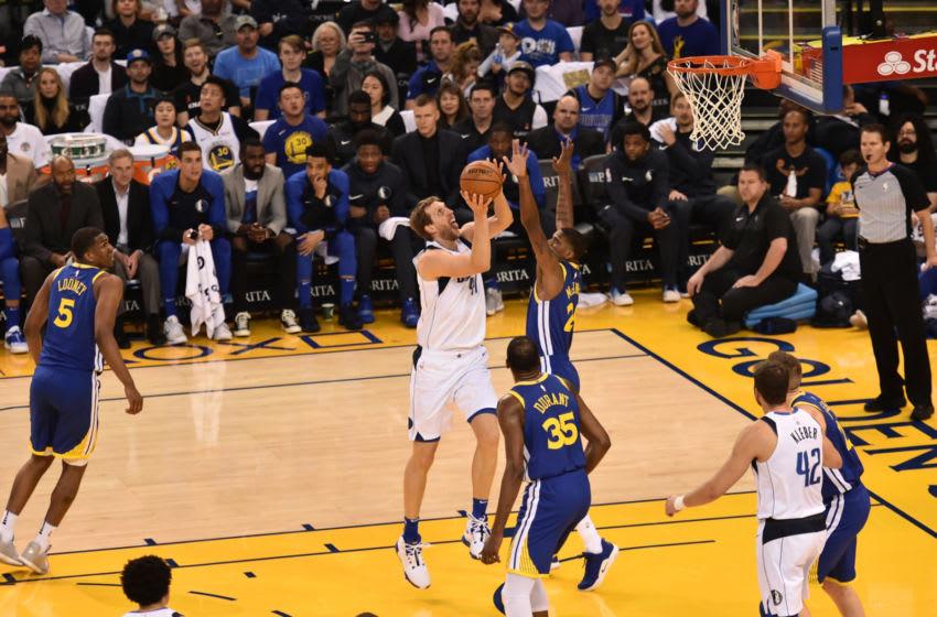 Dallas Mavericks Dirk Nowitzki Copyright 2019 NBAE (Photo by David Dow/NBAE via Getty Images)