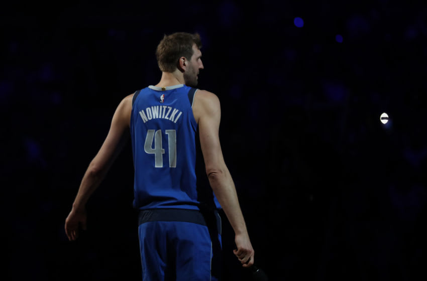 Dirk Nowitzki, Dallas Mavericks. (Photo by Ronald Martinez/Getty Images)