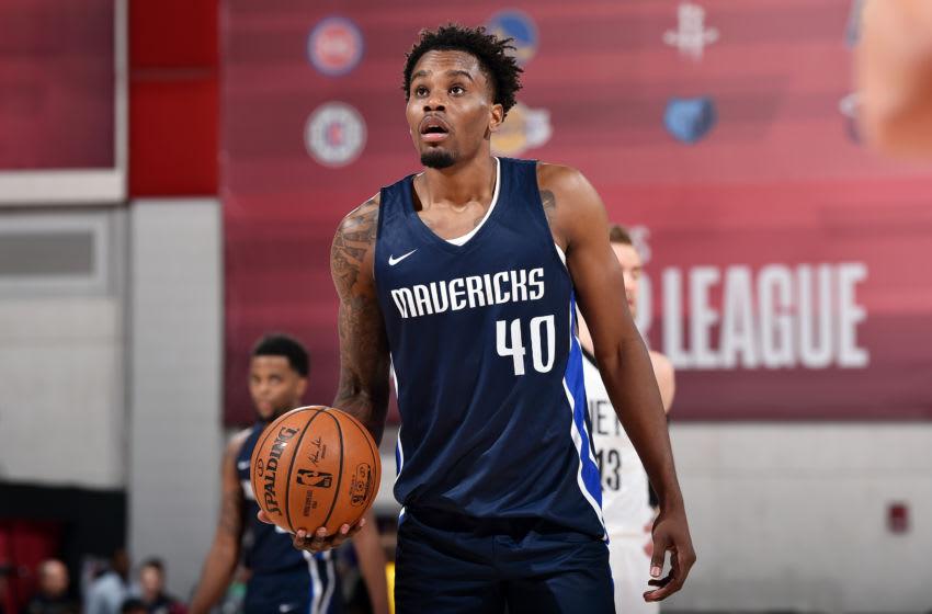 Dallas Mavericks Antonius Cleveland Copyright 2019 NBAE (Photo by David Dow/NBAE via Getty Images)