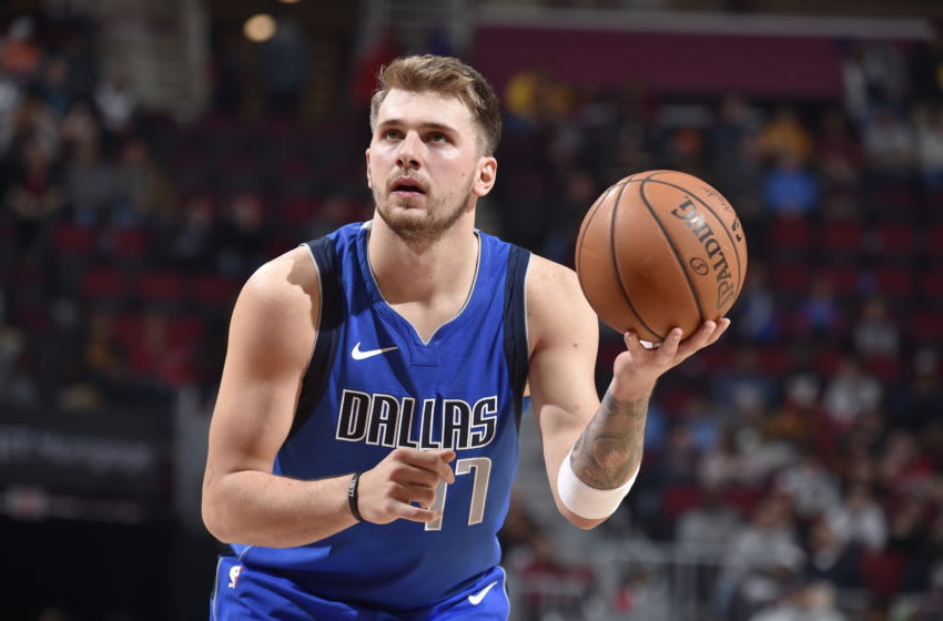 Dallas Mavericks Luka Doncic Copyright 2019 NBAE (Photo by David Liam Kyle/NBAE via Getty Images)