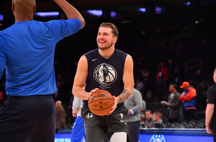 Dallas Mavericks Luka Doncic Copyright 2019 NBAE (Photo by Jesse D. Garrabrant/NBAE via Getty Images)