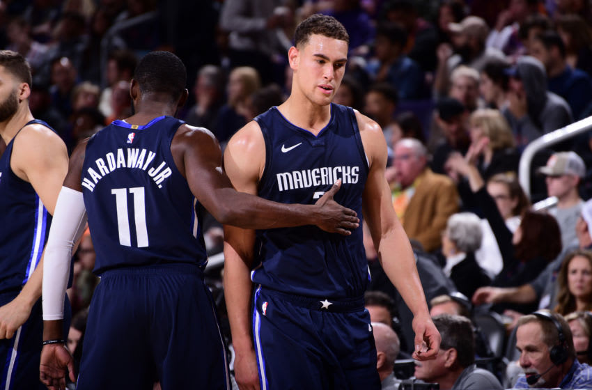 Dallas Mavericks Dwight Powell Copyright 2019 NBAE (Photo by Michael Gonzales/NBAE via Getty Images)
