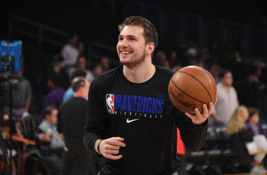 Dallas Mavericks Luka Doncic Copyright 2019 NBAE (Photo by Adam Pantozzi/NBAE via Getty Images)