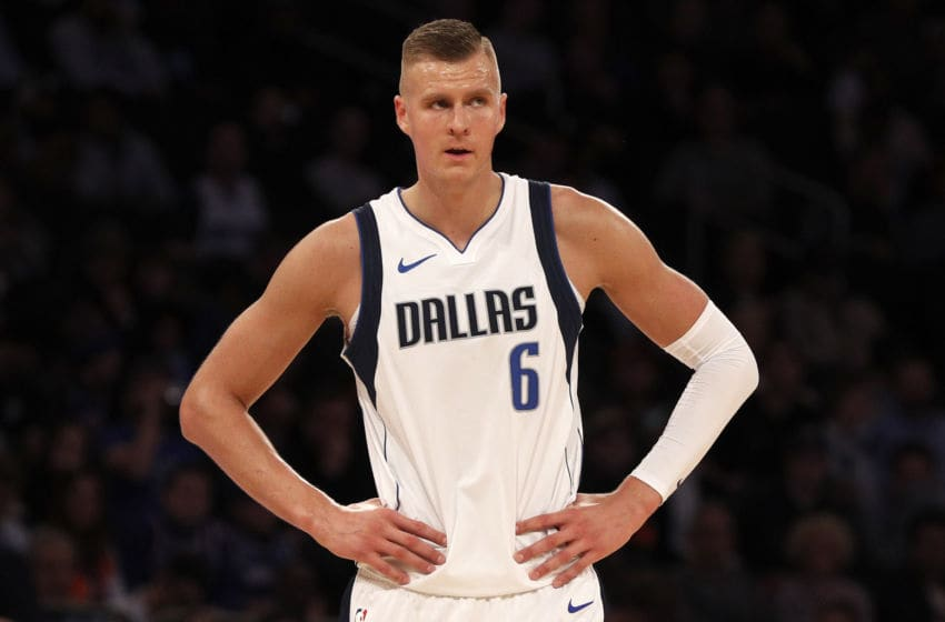 Dallas Mavericks Kristaps Porzingis (Photo by Jim McIsaac/Getty Images)