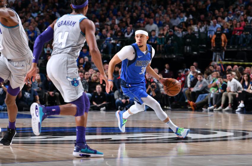 Dallas Mavericks Seth Curry Copyright 2020 NBAE (Photo by Glenn James/NBAE via Getty Images)
