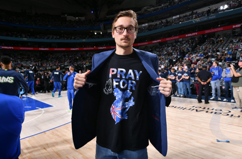 Dallas Mavericks Ryan Broekhoff Copyright 2020 NBAE (Photo by Glenn James/NBAE via Getty Images)