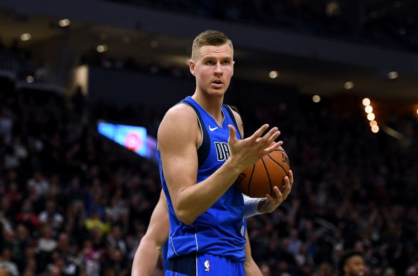 Dallas Mavericks Kristaps Porzingis (Photo by Stacy Revere/Getty Images)