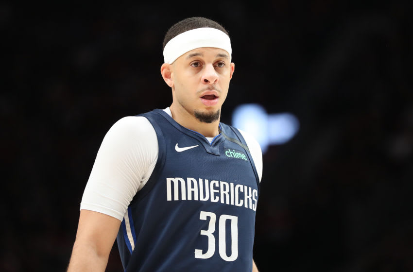Dallas Mavericks Seth Curry (Photo by Abbie Parr/Getty Images)