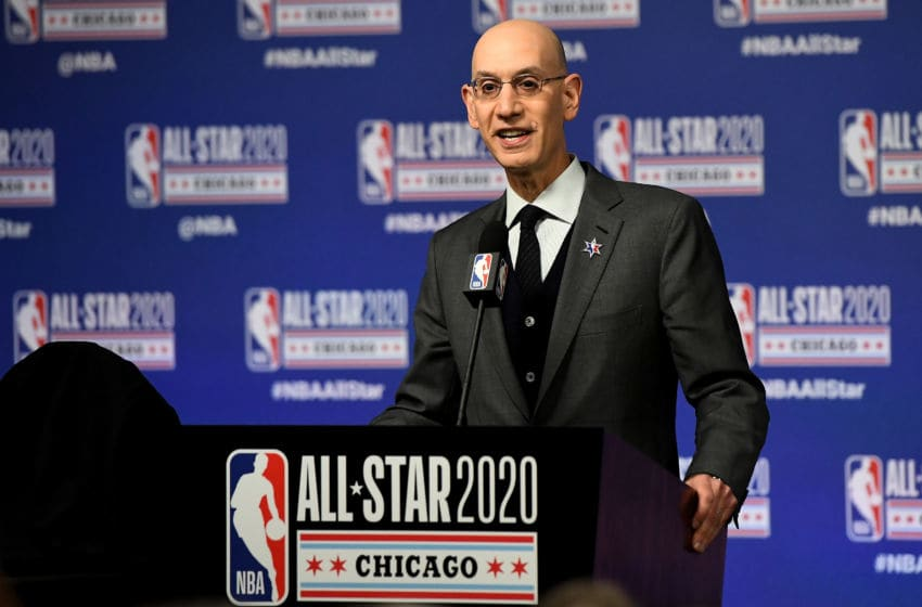 Dallas Mavericks Adam Silver (Photo by Stacy Revere/Getty Images)