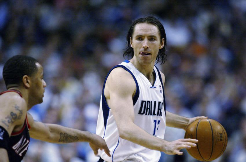 Dallas Mavericks Steve Nash (Photo by: Ronald Martinez/Getty Images)