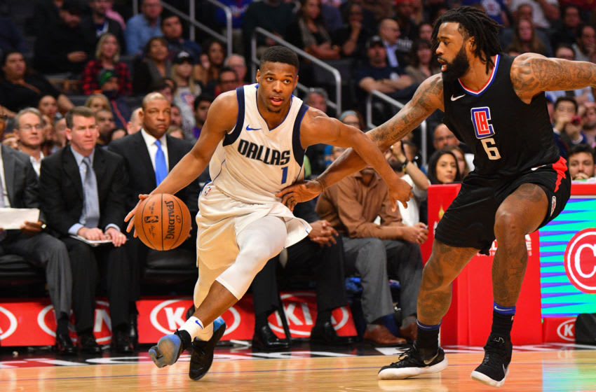 Dallas Mavericks Dennis Smith Jr. (Photo by Brian Rothmuller/Icon Sportswire via Getty Images)