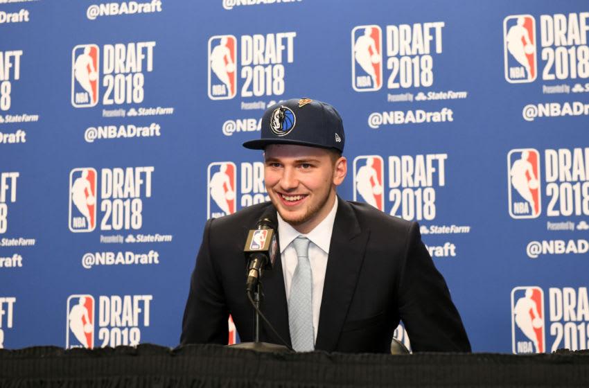 Dallas Mavericks Luka Doncic Copyright 2018 NBAE (Photo by Kostas Lymperopoulos/NBAE via Getty Images)