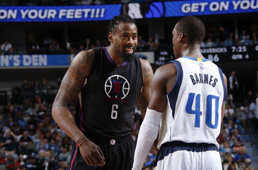 Dallas Mavericks DeAndre Jordan Copyright 2017 NBAE (Photo by Glenn James/NBAE via Getty Images)