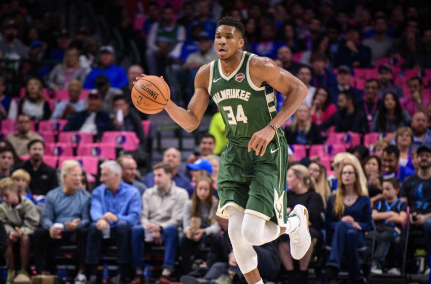 Dallas Mavericks Giannis Antetokounmpo Mandatory Credit: Jerome Miron-USA TODAY Sports