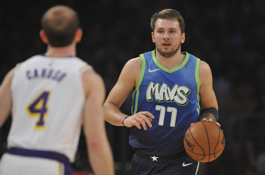 Dallas Mavericks Luka Doncic Mandatory Credit: Gary A. Vasquez-USA TODAY Sports
