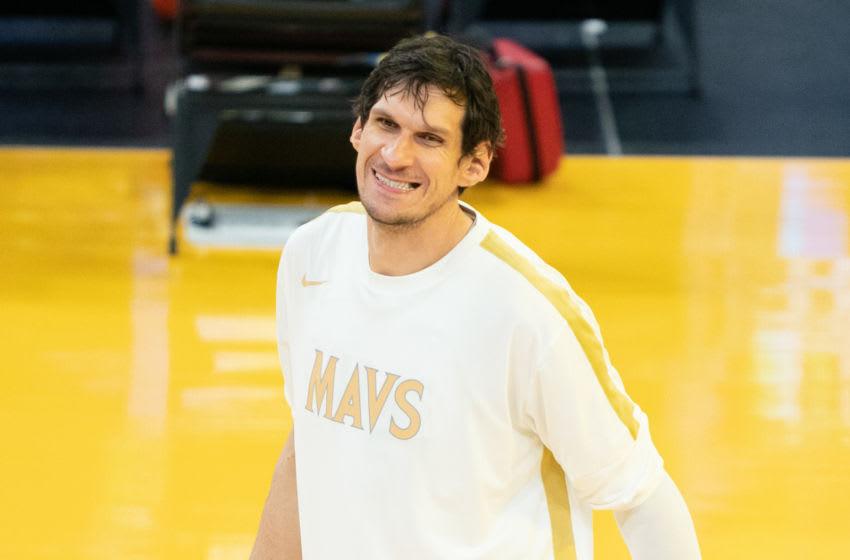 Dallas Mavericks Boban Marjanovic Mandatory Credit: Kyle Terada-USA TODAY Sports
