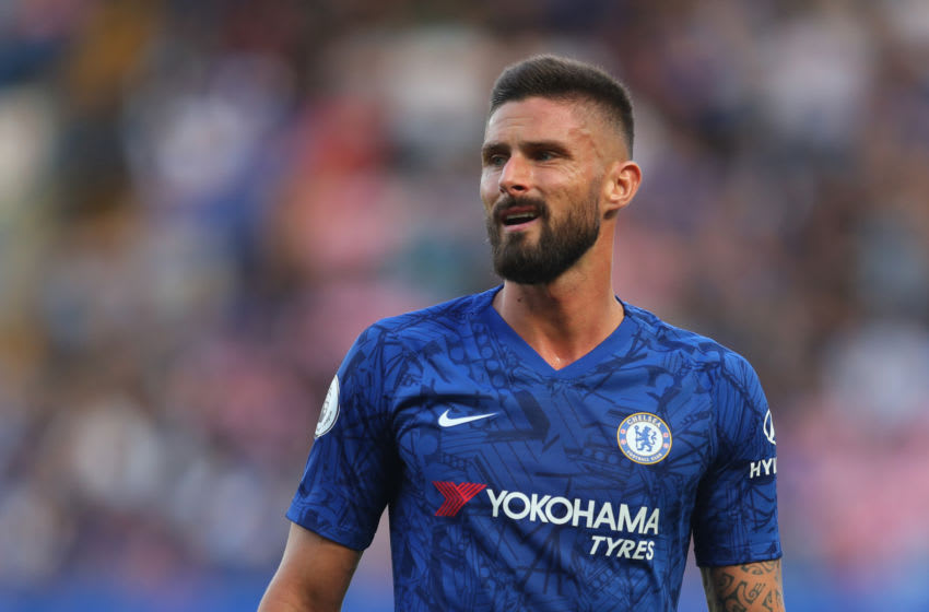 Olivier Giroud of Chelsea (Photo by Catherine Ivill/Getty Images)