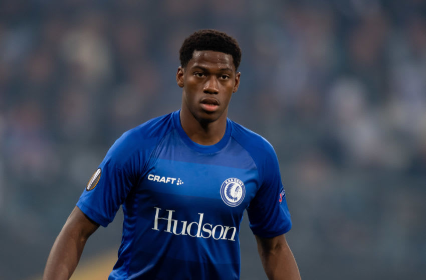 GENT, BELGIUM - SEPTEMBER 19: Jonathan David of KAA Gent looks on during the UEFA Europa League group I match between KAA Gent and AS Saint-Etienne at Ghelamco Arena on September 19, 2019 in Gent, Belgium. (Photo by TF-Images/Getty Images)